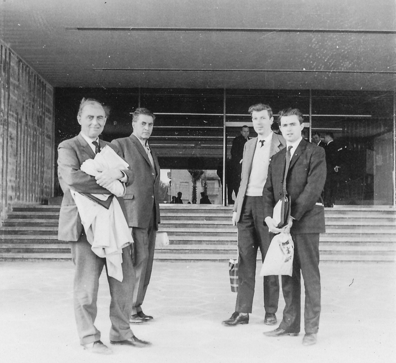 Hugh Alexander, Čeněk Kottnauer, Michael Franklin and Owen Hindle