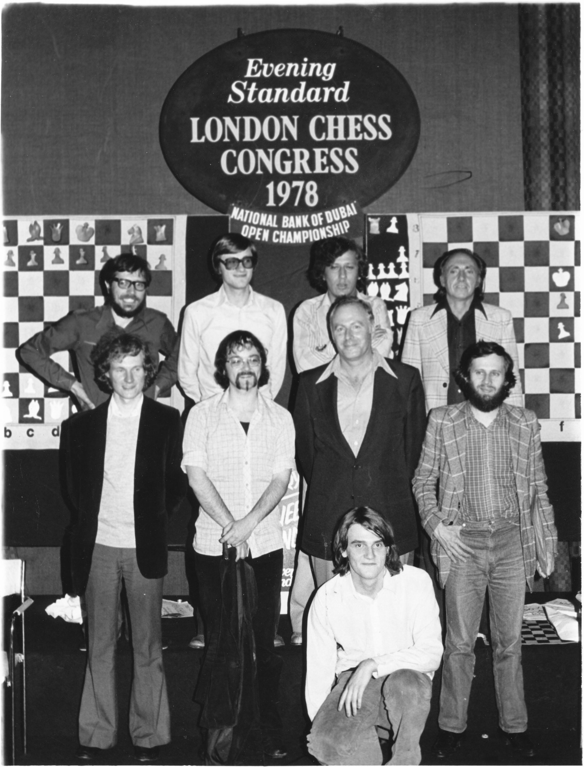 Peter Graham Large (Front row , far left)