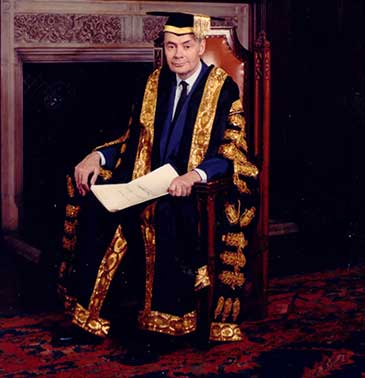 Sir Jeremy Morse KCMG, Chancellor of the University of Bristol from 1989 to 2003