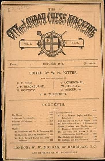The London  Chess Magazine