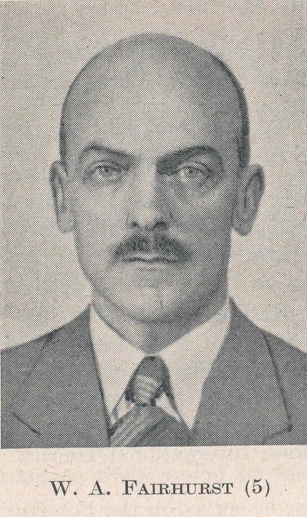IM William Albert Fairhurst CBE (21-viii-1903 -13-iii-1982) Source : The Anglo-Soviet Radio Chess Match
