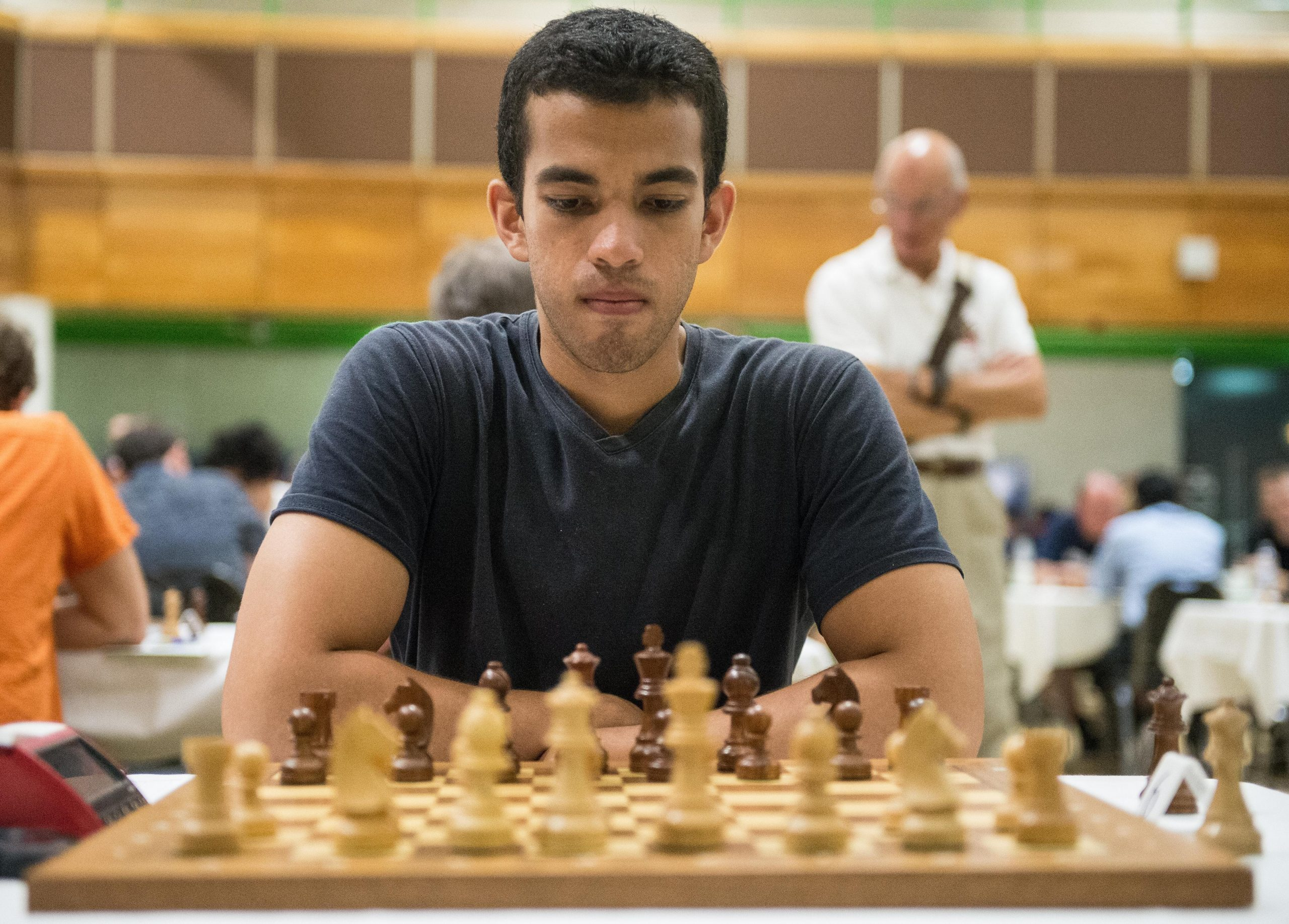 GM Daniel Fernandez, 2019 British Championships, Torquay. Courtesy of John Upham Photography