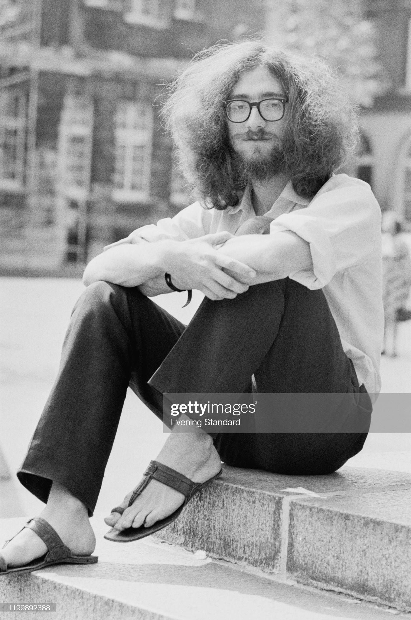 British chess player and mathematician Jonathan Mestel, August 1976. (Photo by Fresco/Evening Standard/Hulton Archive/Getty Images)