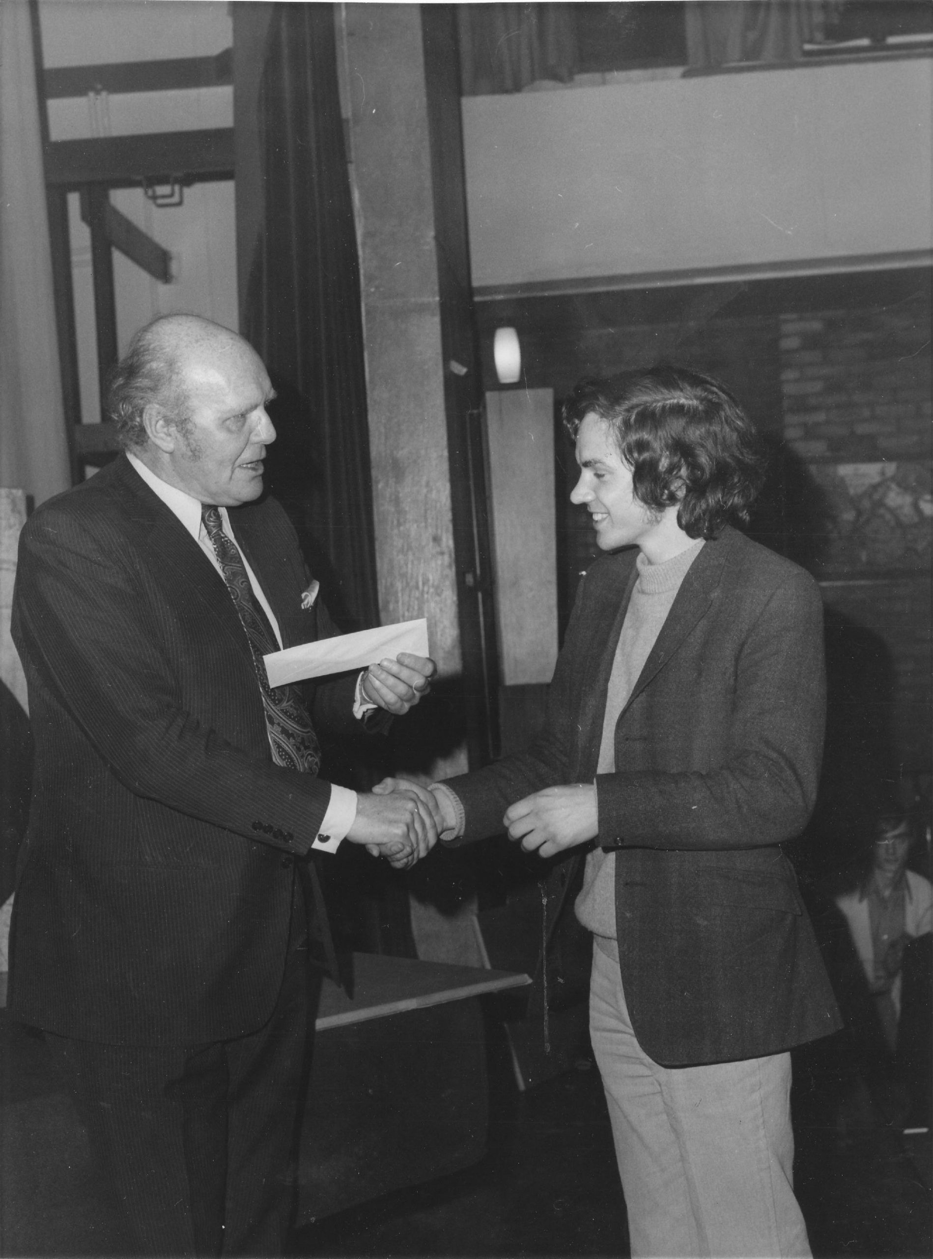 David Nixon and Simon Webb at the London Evening Standard Congress