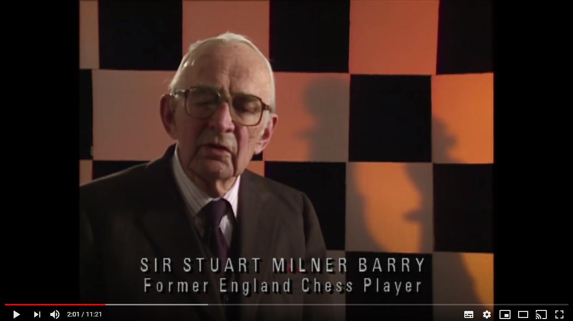Sir Stuart Milner-Barry talks about Malik Mir Sultan Khan