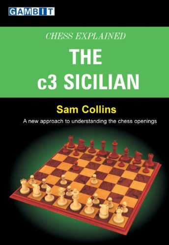 Chess explained: The c3 Sicilian by Sam Collins, Gambit Publications, 2007.