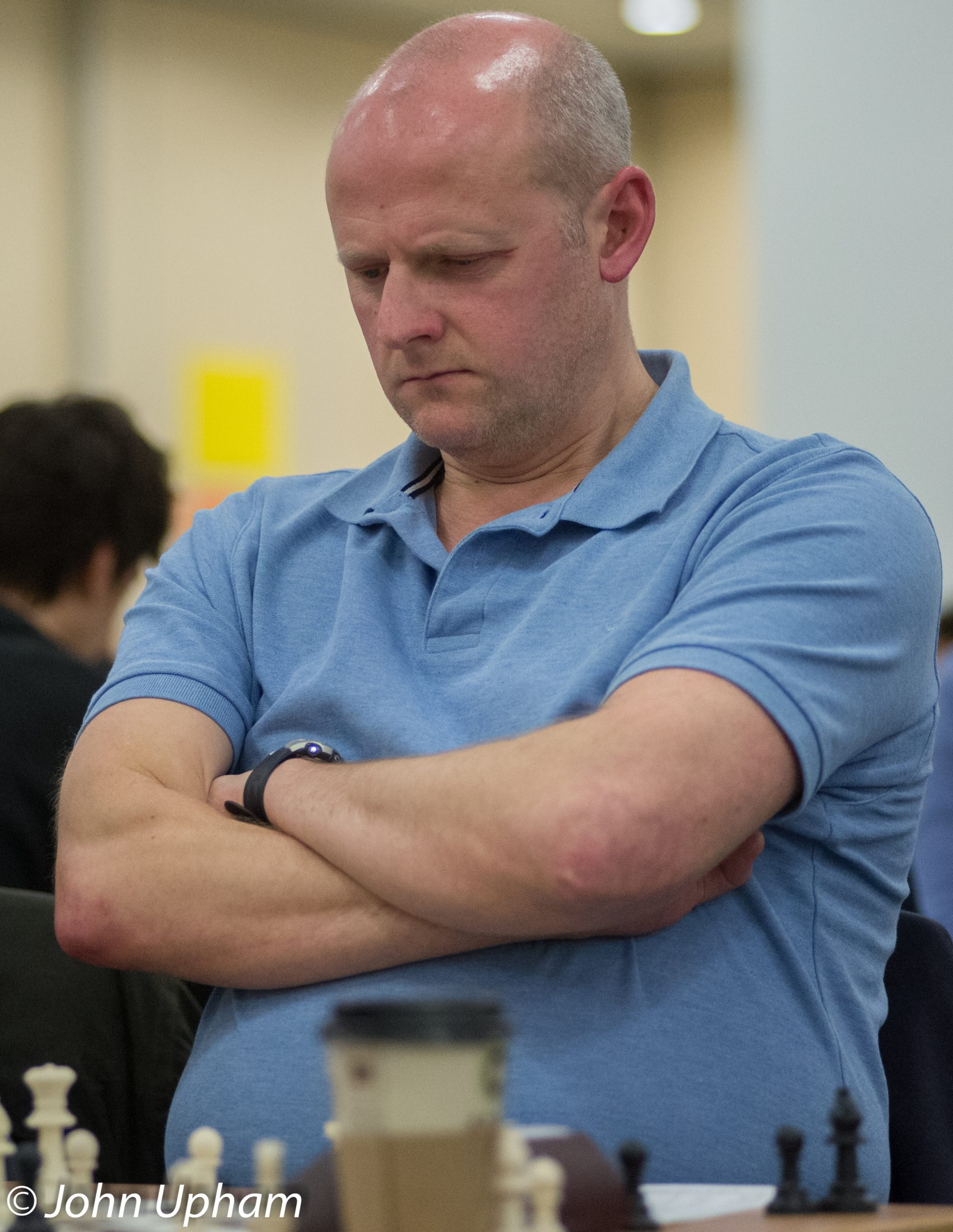 FM Neil Carr, London Chess Classic 2013, courtesy pf John Upham Photography