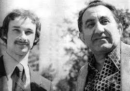 Igor Yanvarjov with Tigran Petrosian