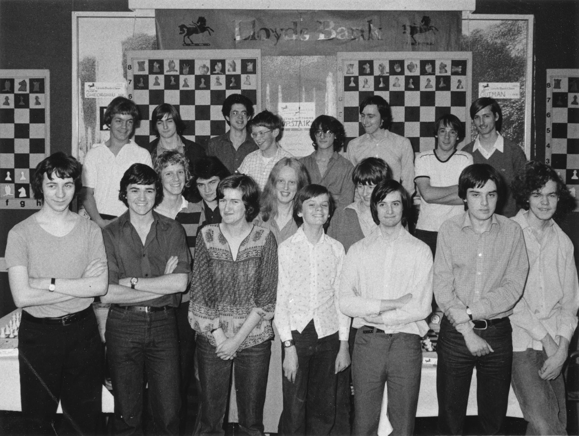 IM Byron Jacobs (front, fourth from left) at a Lloyds Bank event