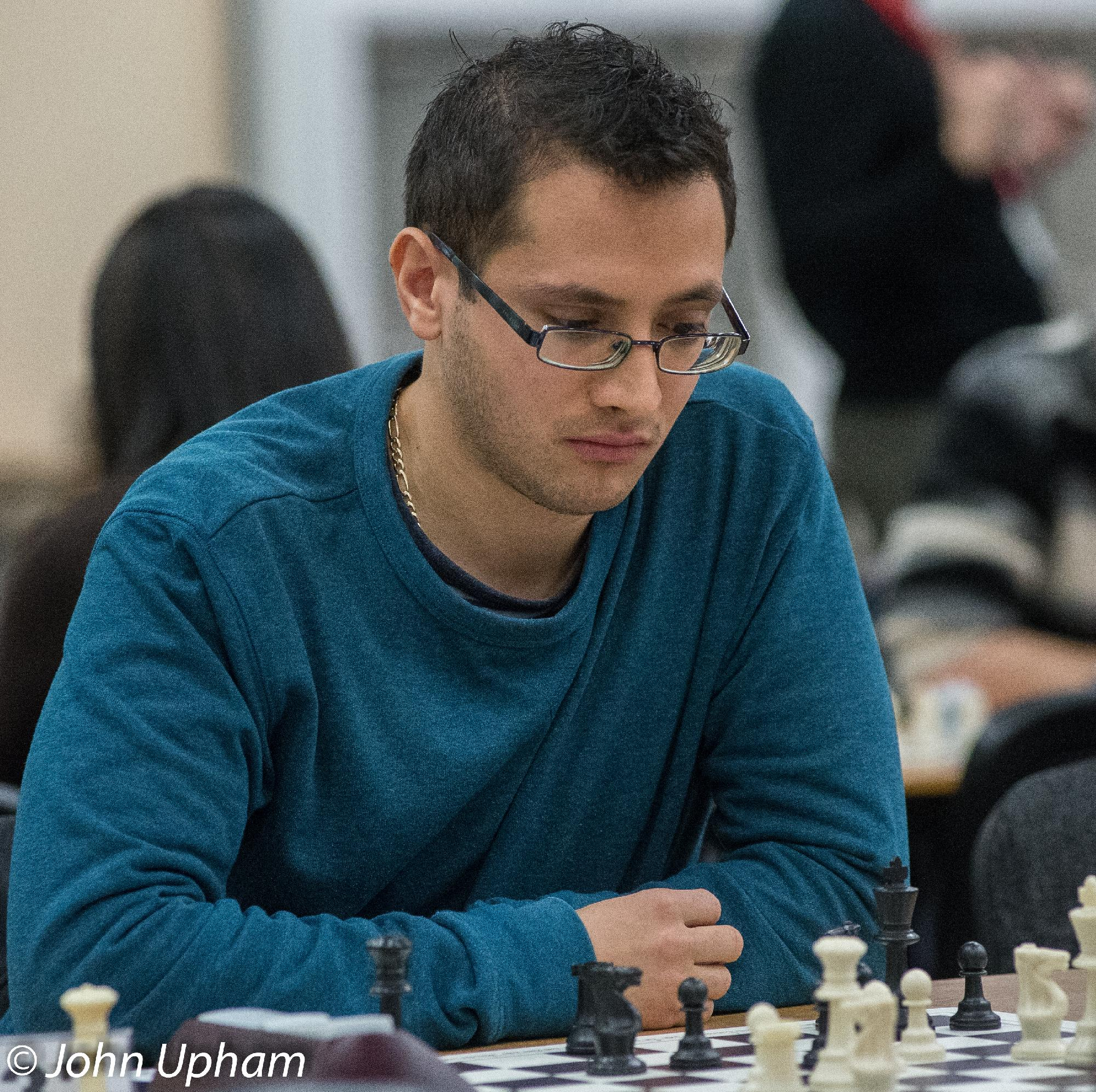 IM Lorin D'Costa. London Chess Classic 2014, courtesy of John Upham Photography