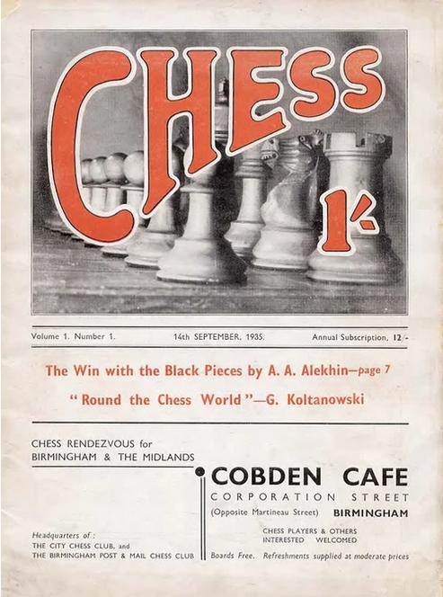 CHESS, Volume 1, Number 1, September 1935