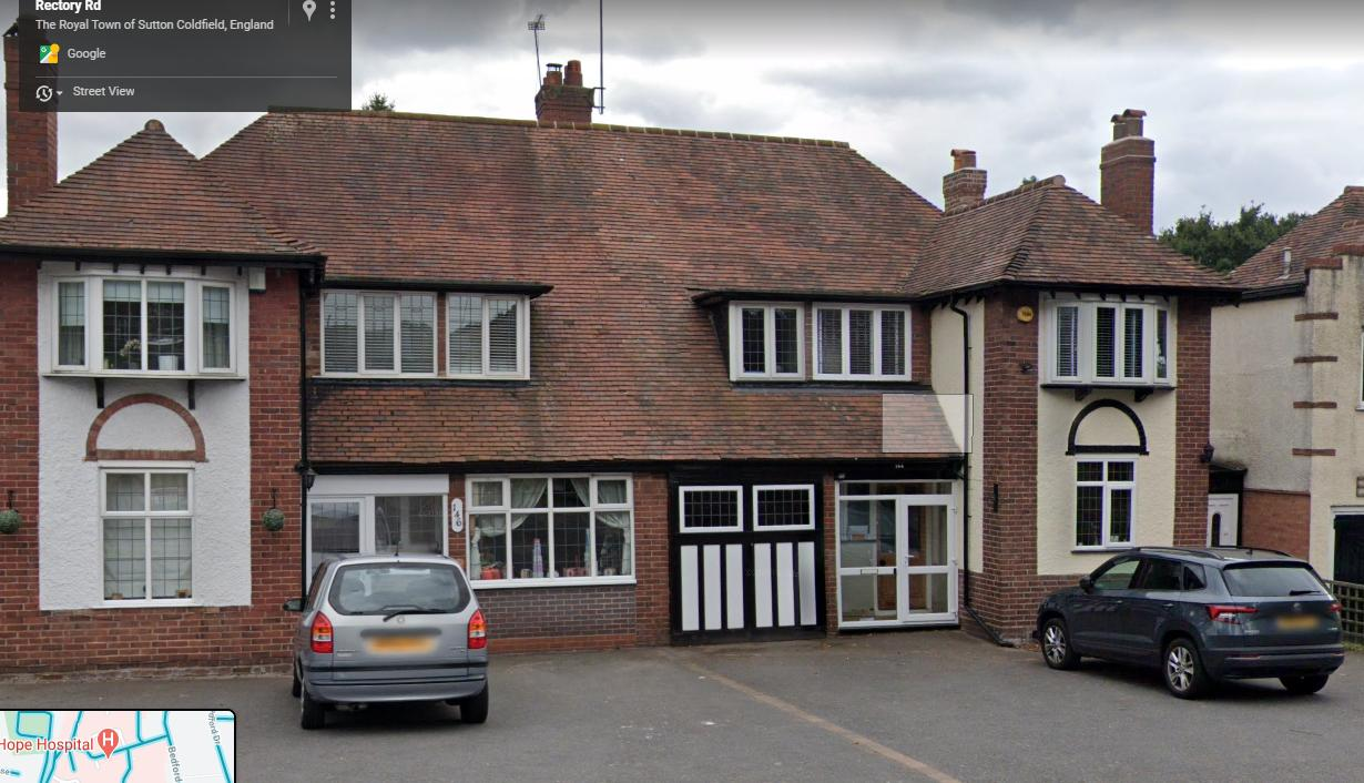146, Rectory Road, The Royal Town of Sutton Coldfield, West Midlands, B75 7RS