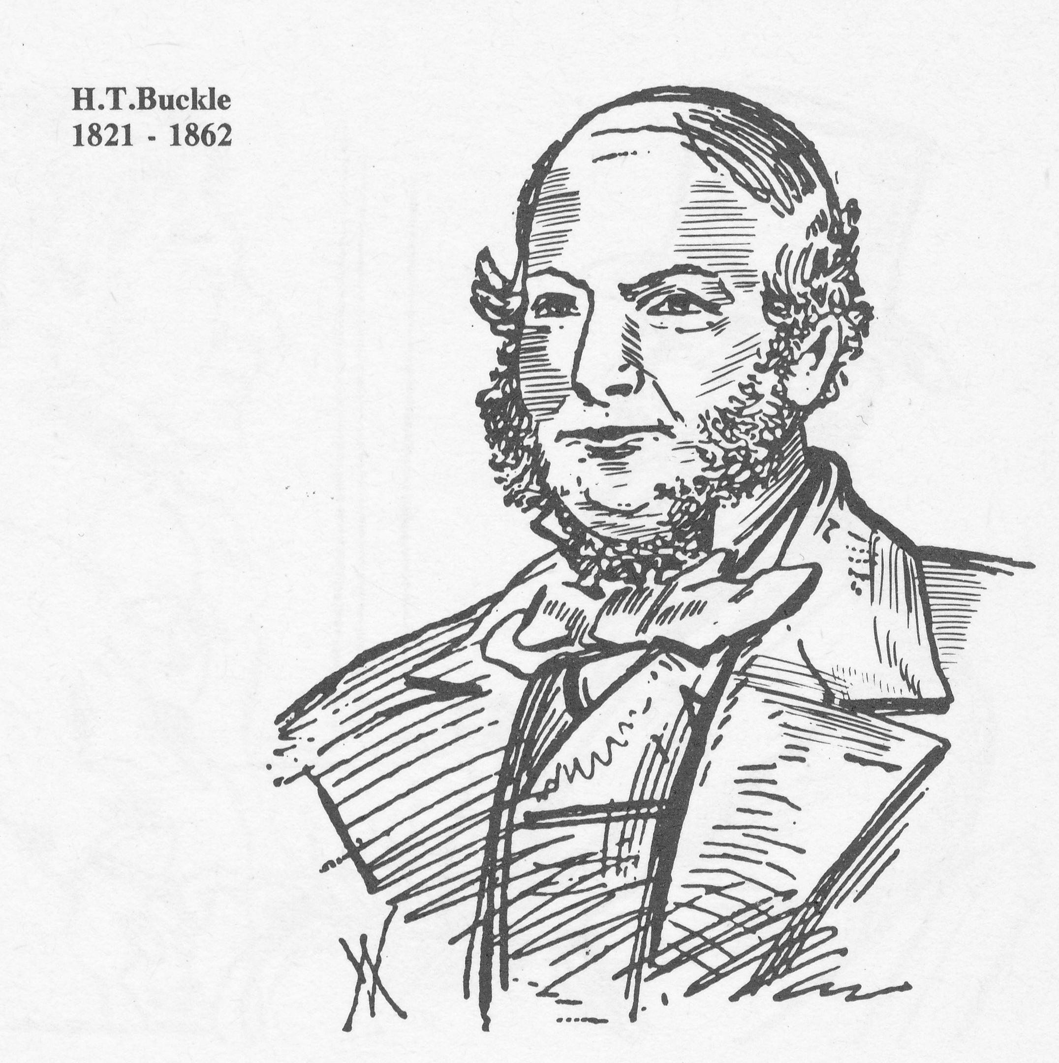 Henry Thomas Buckle (24-xi-1821 29-v-1862) from Howard Staunton, the English World Champion