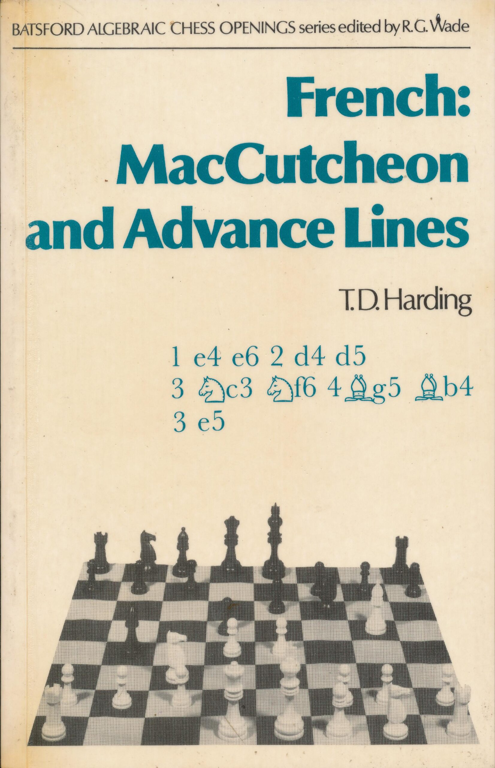 French: MacCutcheon and Advance Lines, Batsford, 1979