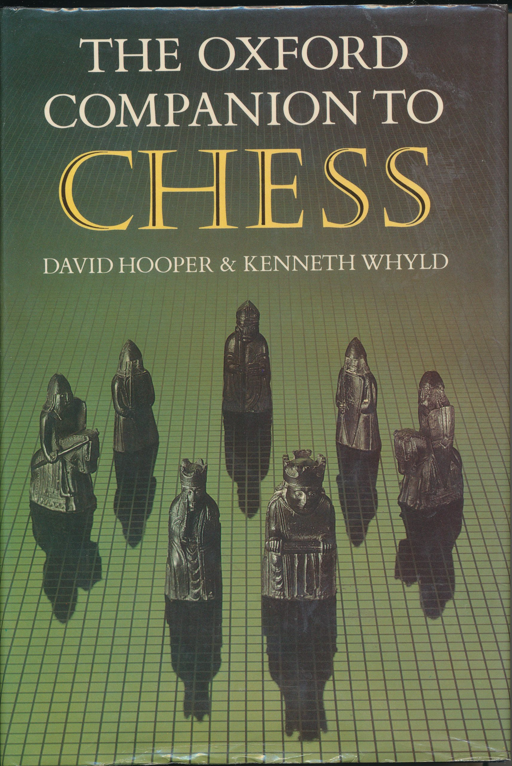The Oxford Companion to Chess, 1st Edition, David Hooper & Ken Whyld, Oxford University Press, 1984, ISBN 0 19 217540 8