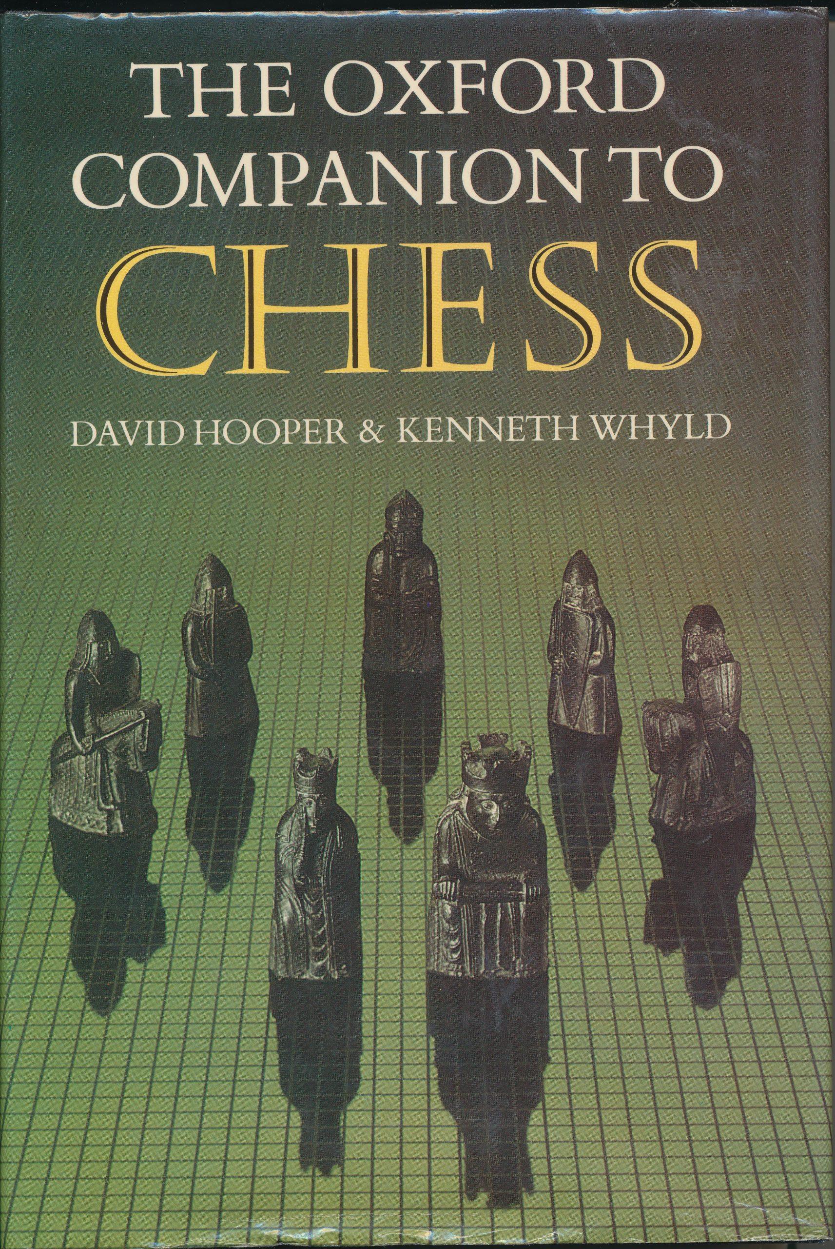 The Oxford Companion to Chess, 1st Edition, David Hooper & Ken Whyld, Oxford University Press, 1984, ISBN 0 19 217540 8
