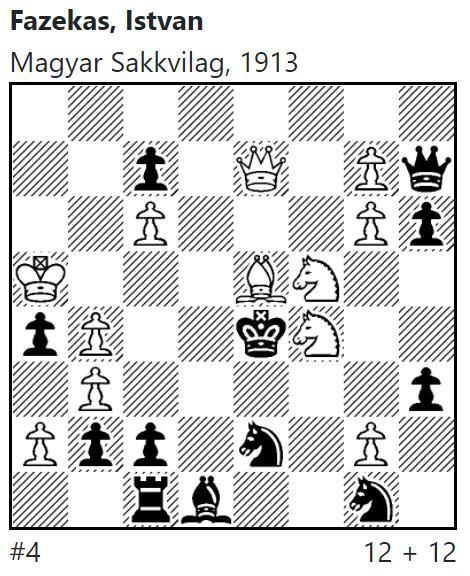 Fazekas, Istvan Magyar Sakkvilag, 191, Meson database PID: 191037
