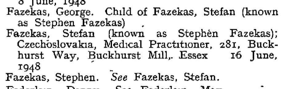 The London Gazette, 1948