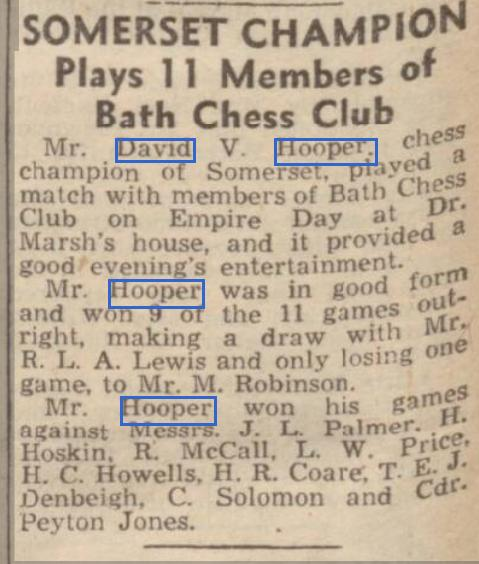 Bath Chronicle and Weekly Gazette, May 27th 1944