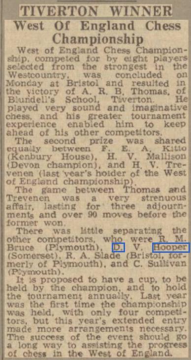 Western Morning News, 9th April 1947
