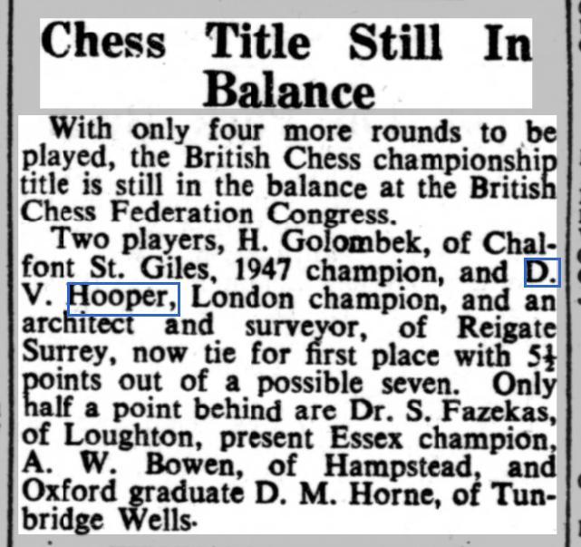 Nottingham Evening Post, 16th August 1949