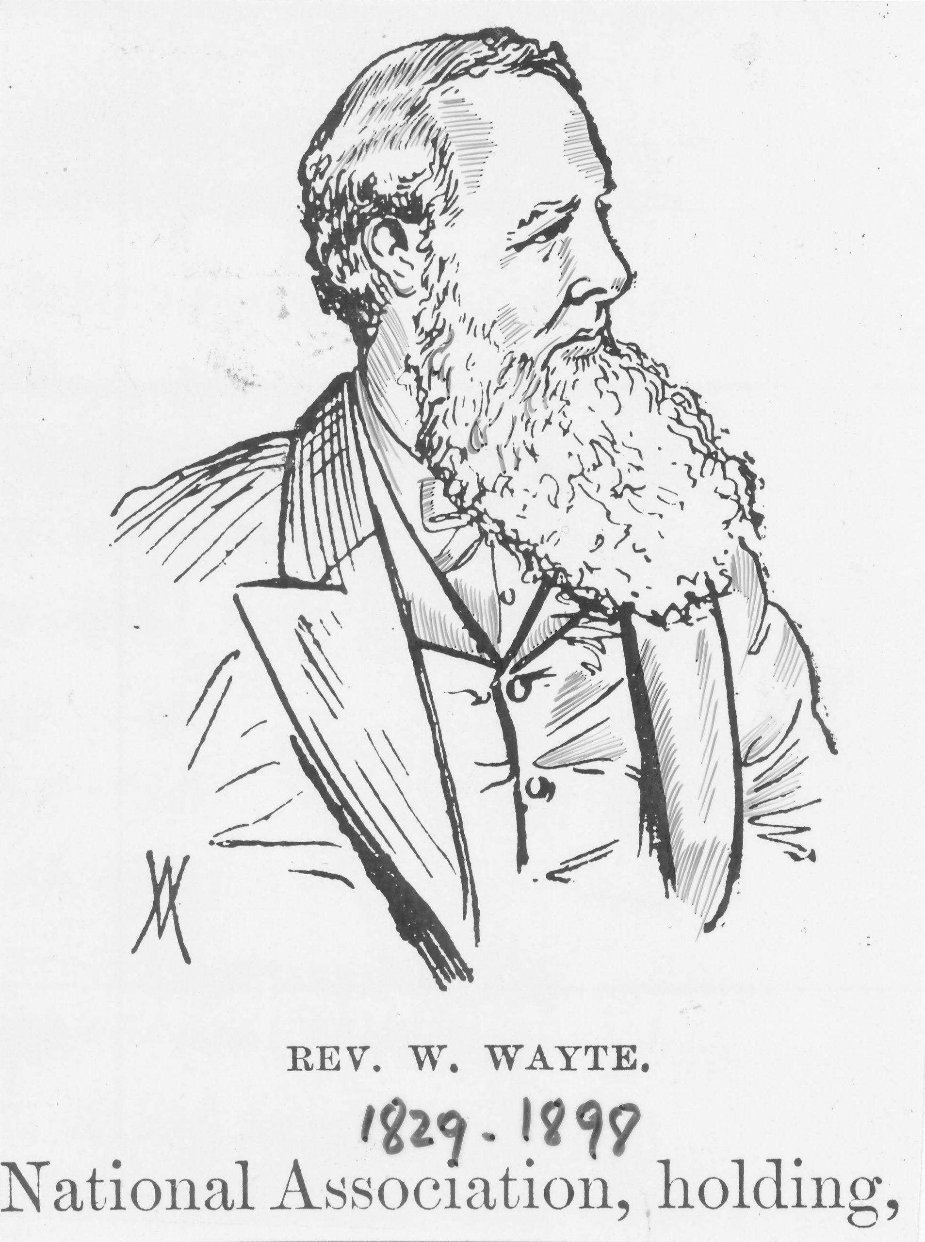 Reverend William Wayte (04-ix-1829 03-v-1898)