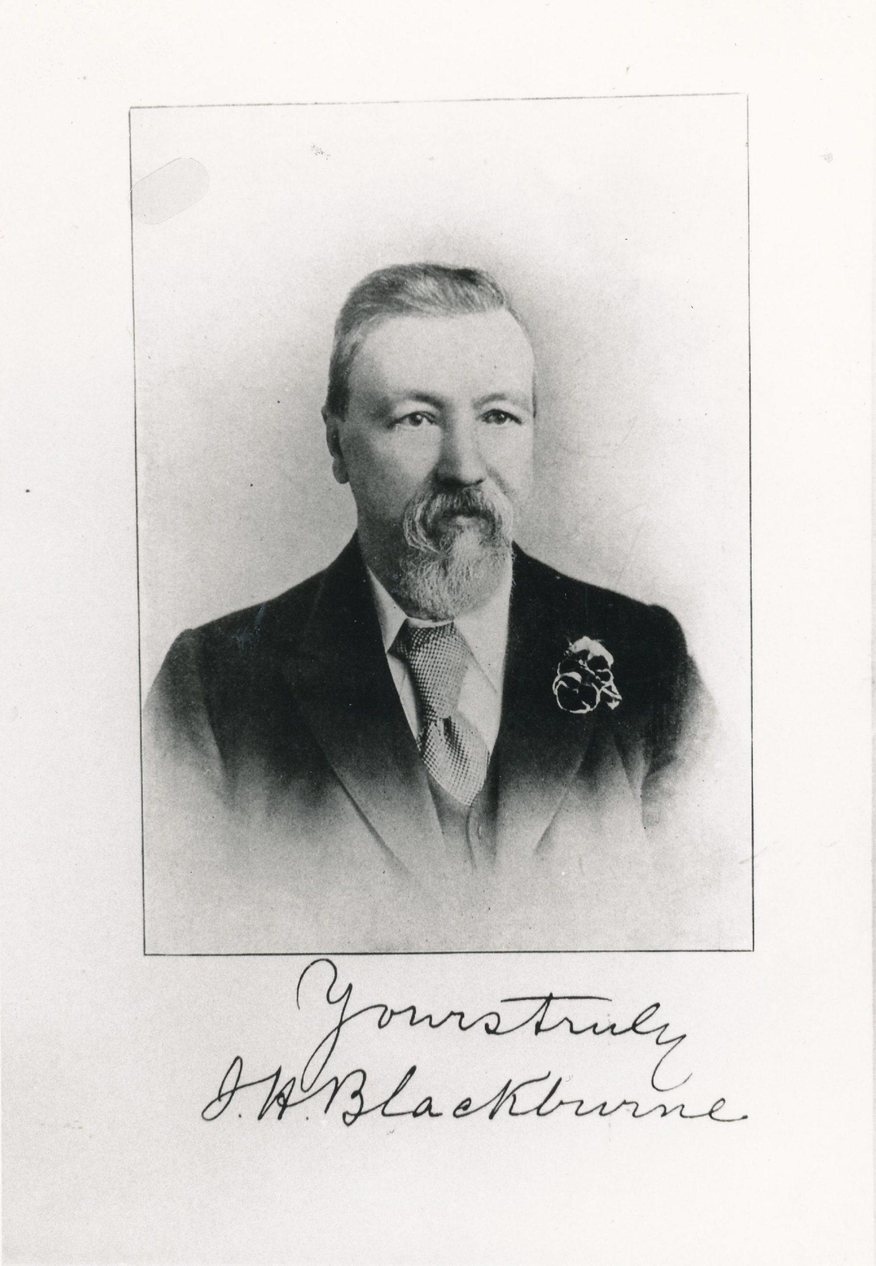 Joseph Henry Blackburne (10-xii-1841 01-ix-1924)