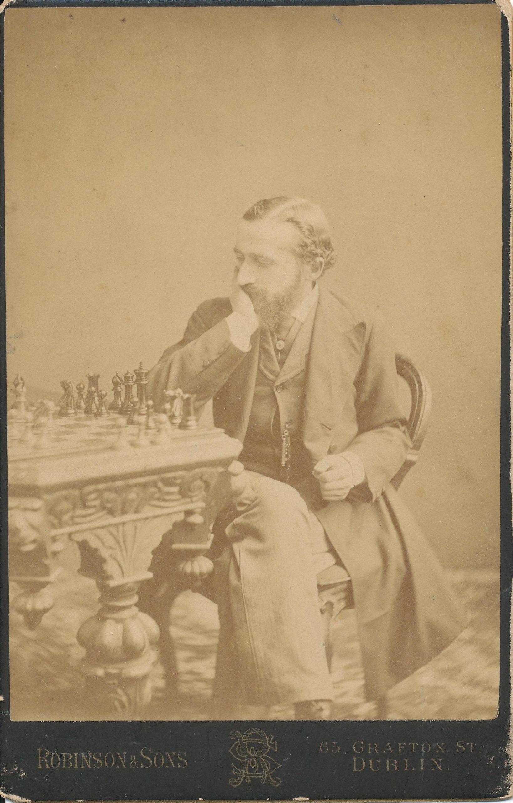 Johannes Hermann Zukertort (07-ix-1842 20-vi-1888)