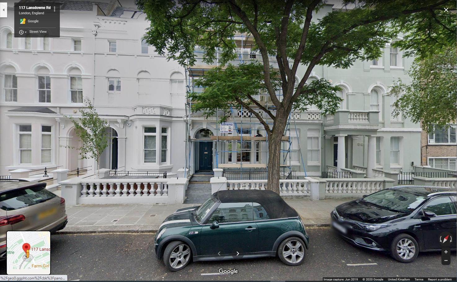 117, Lansdowne Road, Notting Hill, London, W11 2LF