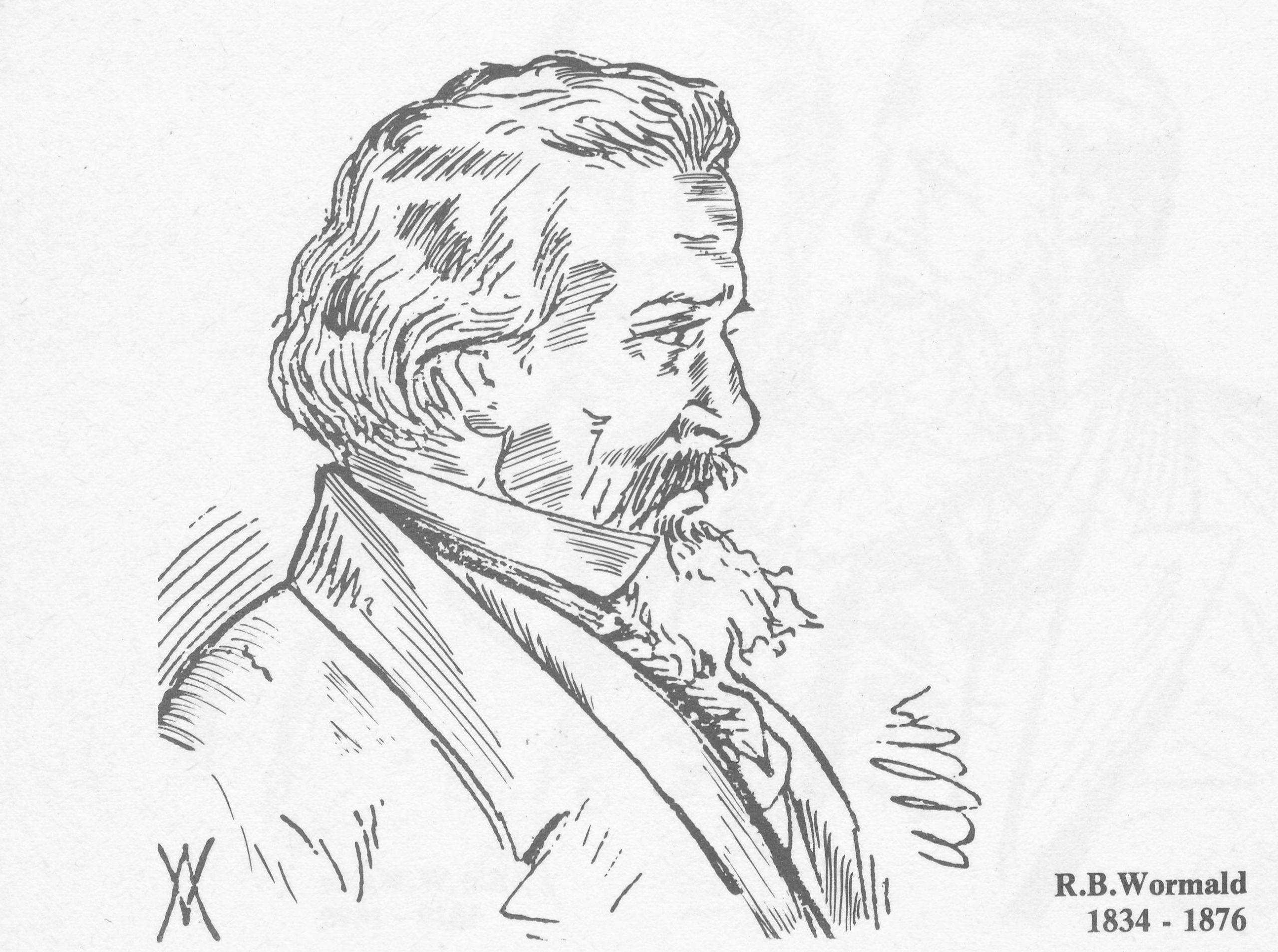 Robert Bownas Wormald (12-v-1834 04-xii-1876)