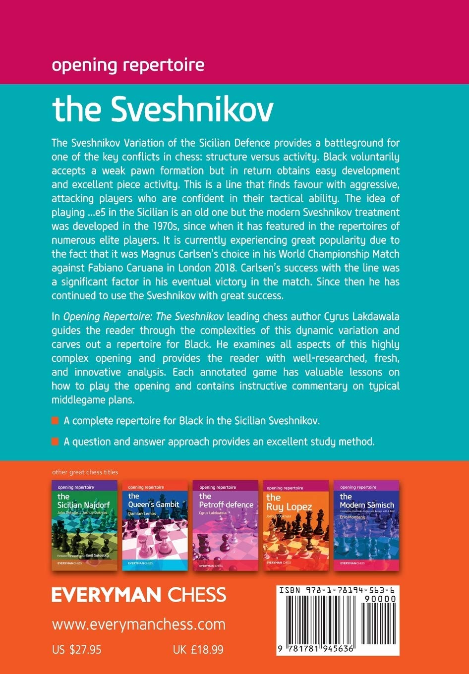 Opening Repertoire : The Sveshnikov