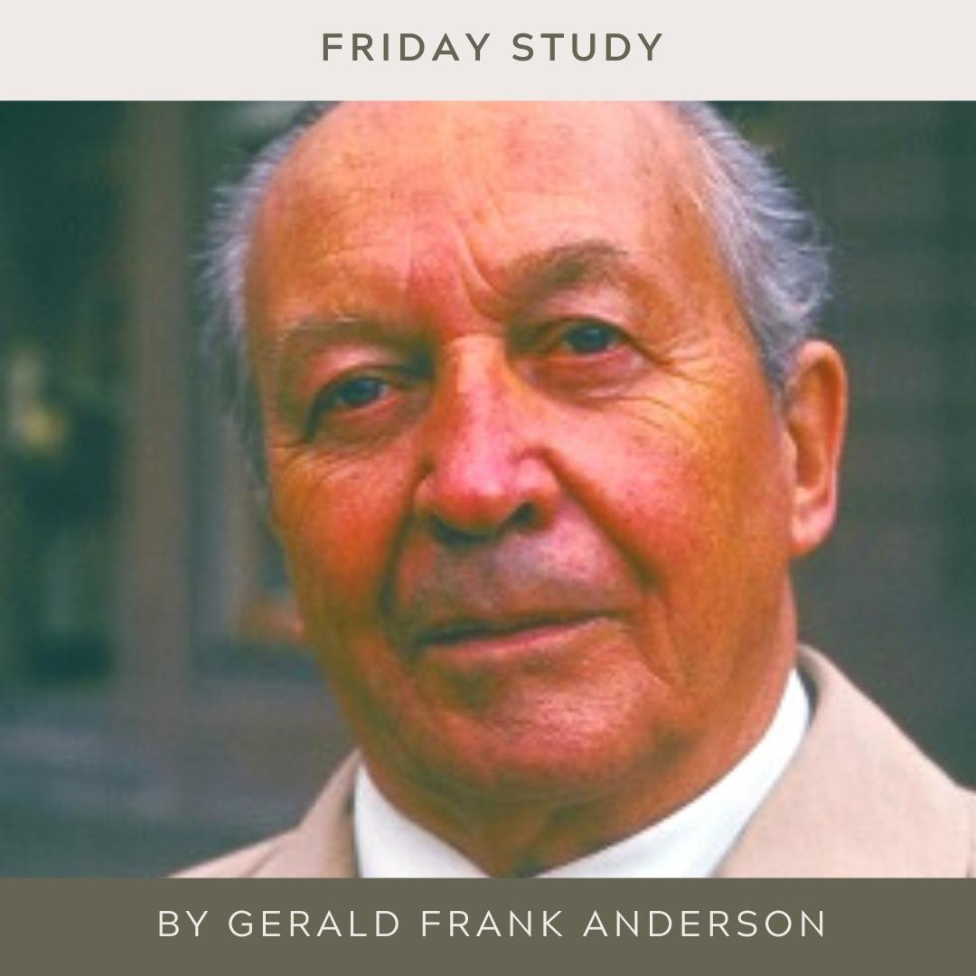 Gerald Frank Anderson MBE DFC (24-ii-1898 23-viii-1984)