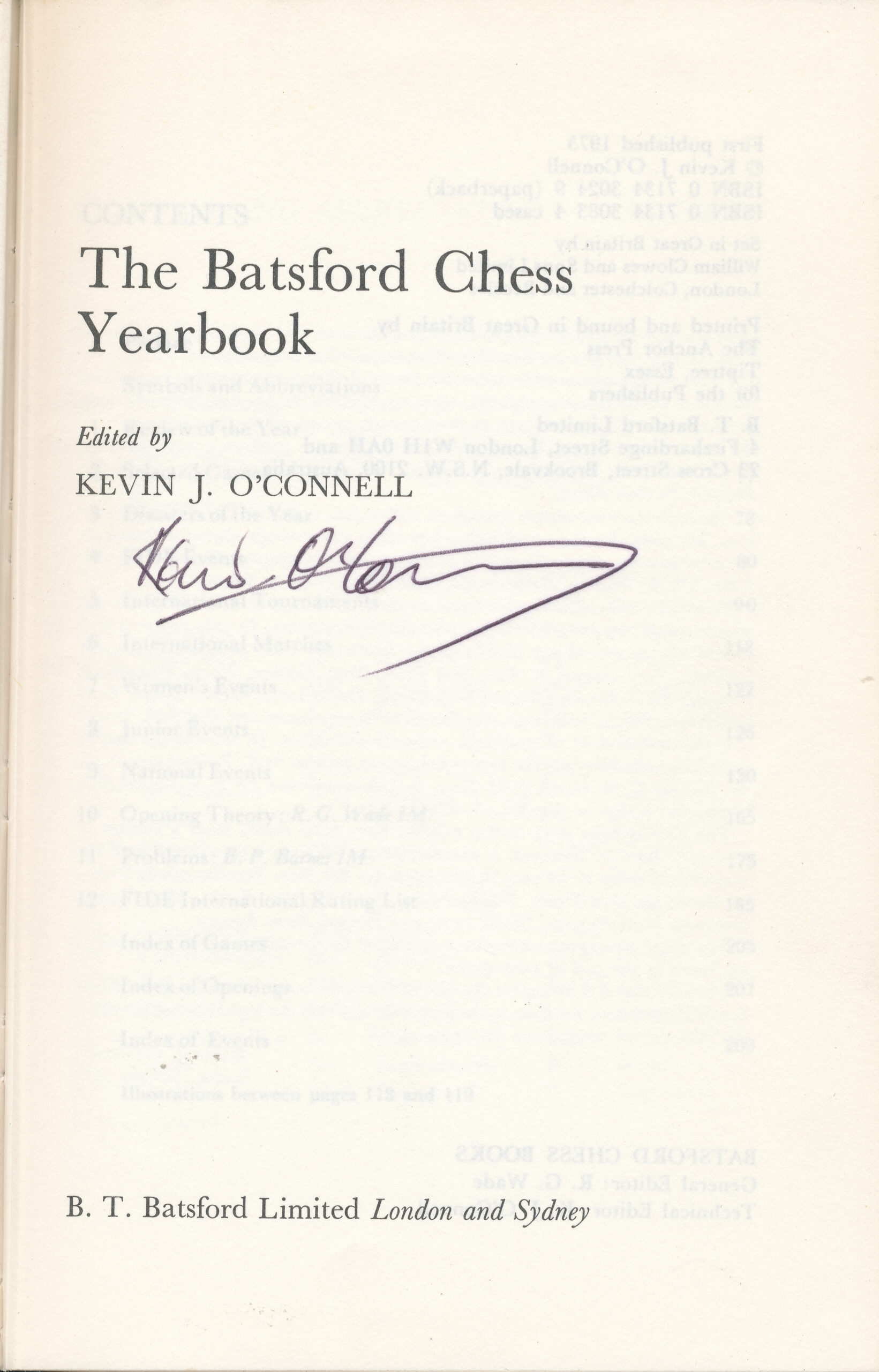 The Batsford Chess Yearbook