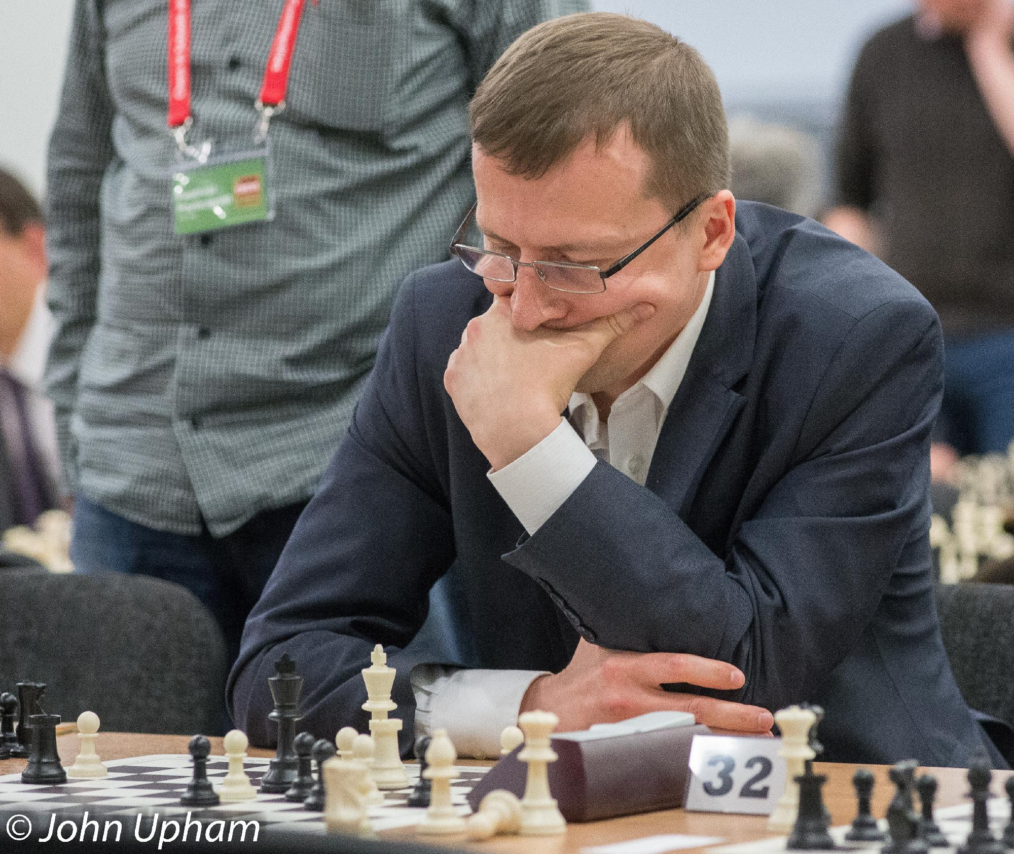 GM Alexander Cherniaev, London Chess Classic 2014, courtesy of John Upham Photography