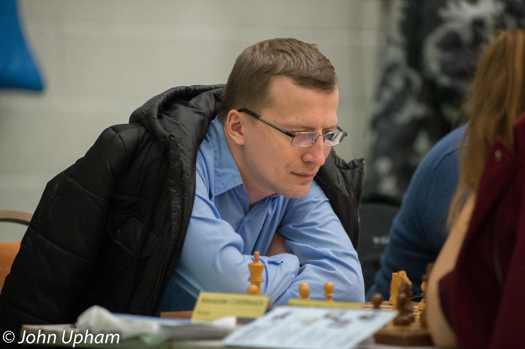 GM Alexander Cherniaev, Hastings 2013-2014, courtesy of John Upham Photography