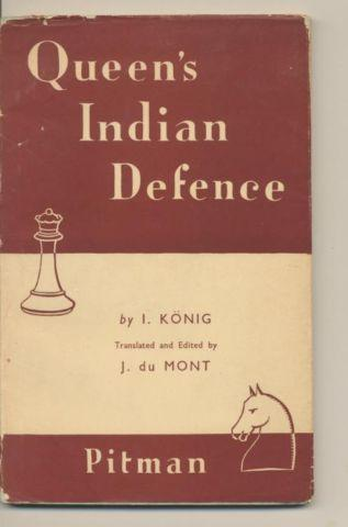 Queen's Indian Defence, König, Pitman, 1947