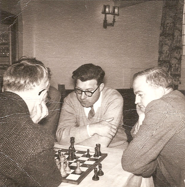 John with chess friends