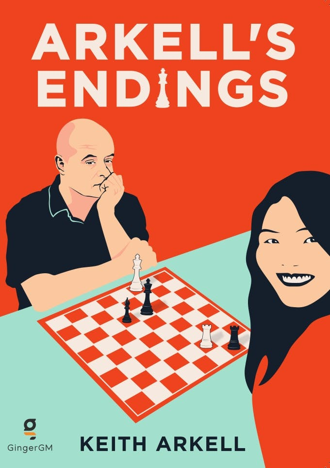 Arkell's Endings, Keith Arkell, GingerGM, 2020, ISBN-10 : 1527265595