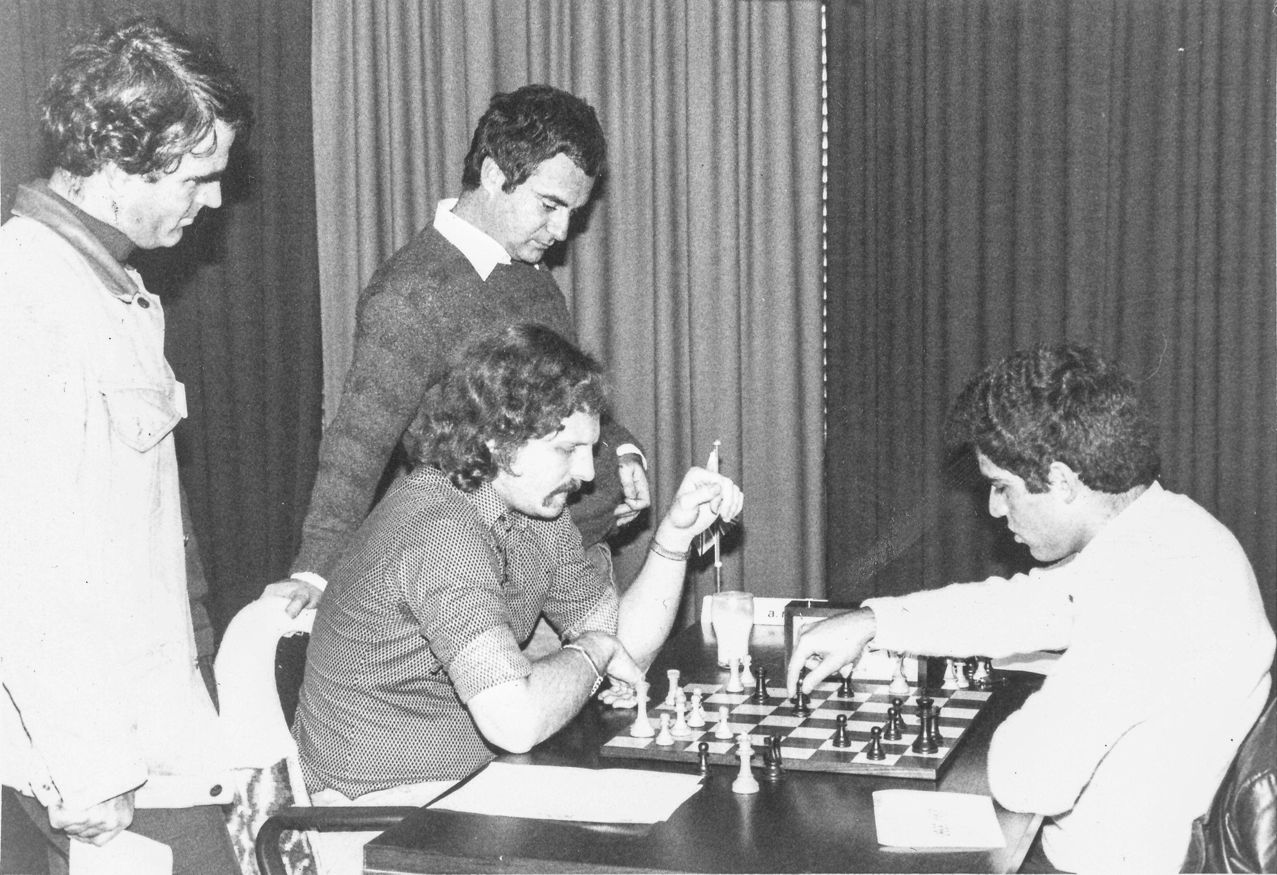 Post mortem analysis with Tony and Garry Kasparov