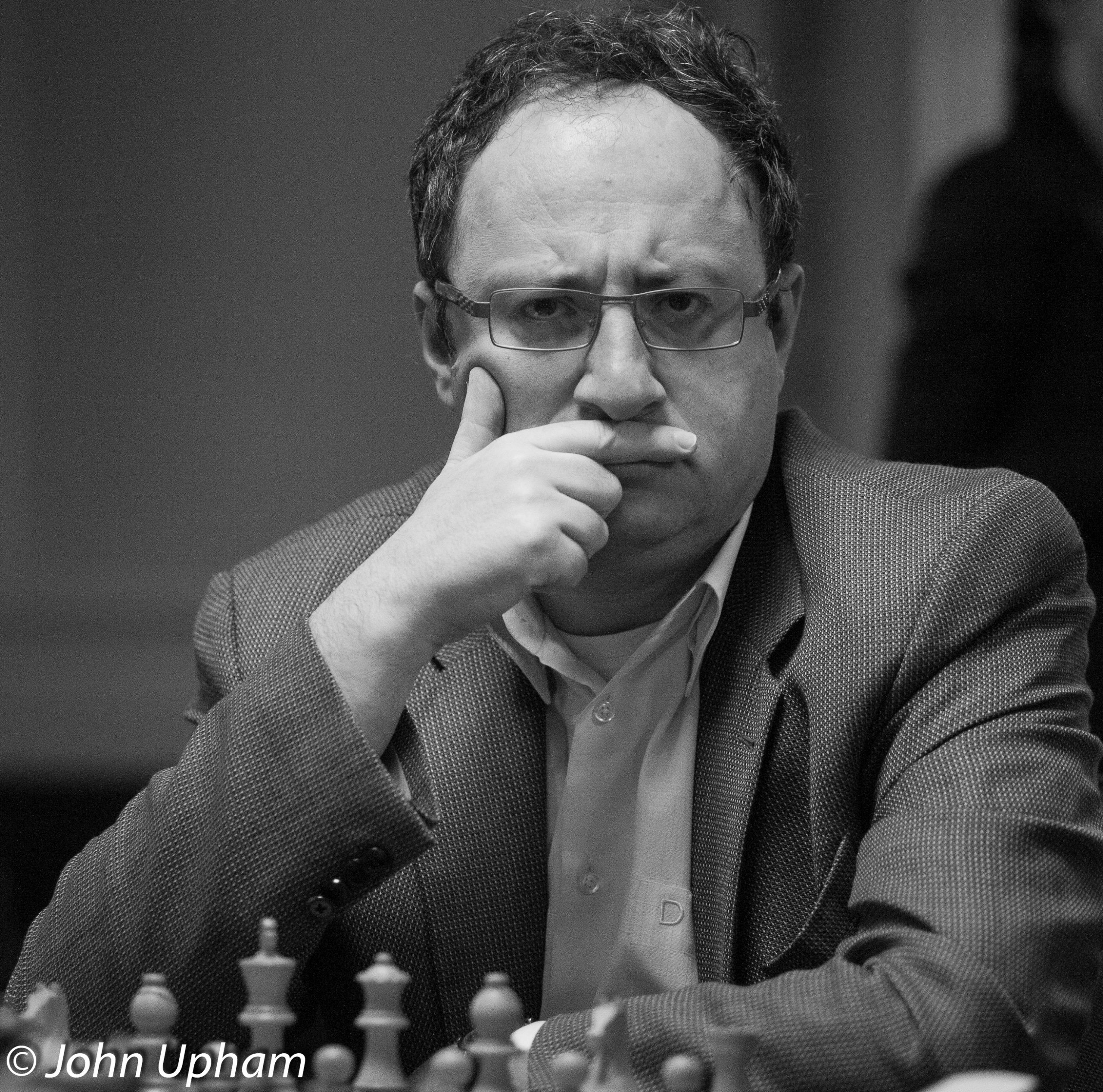 Boris Gelfand, FIDE Grand Prix, London, 2013, Courtesy of John Upham Photography