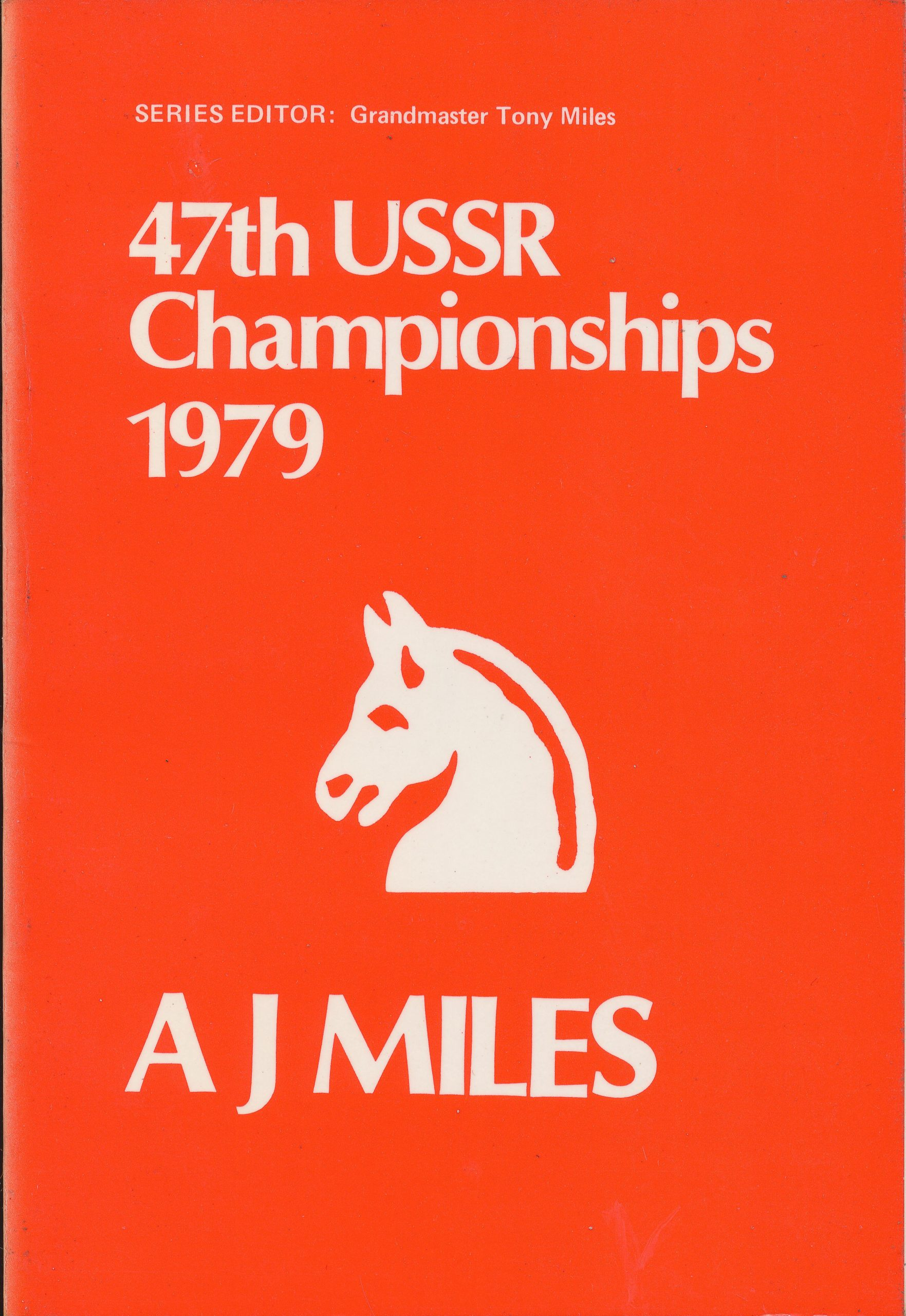 47th USSR Championships 1979, AJ Miles, The Chess Player, 1979, ISBN 0 906042 32 1