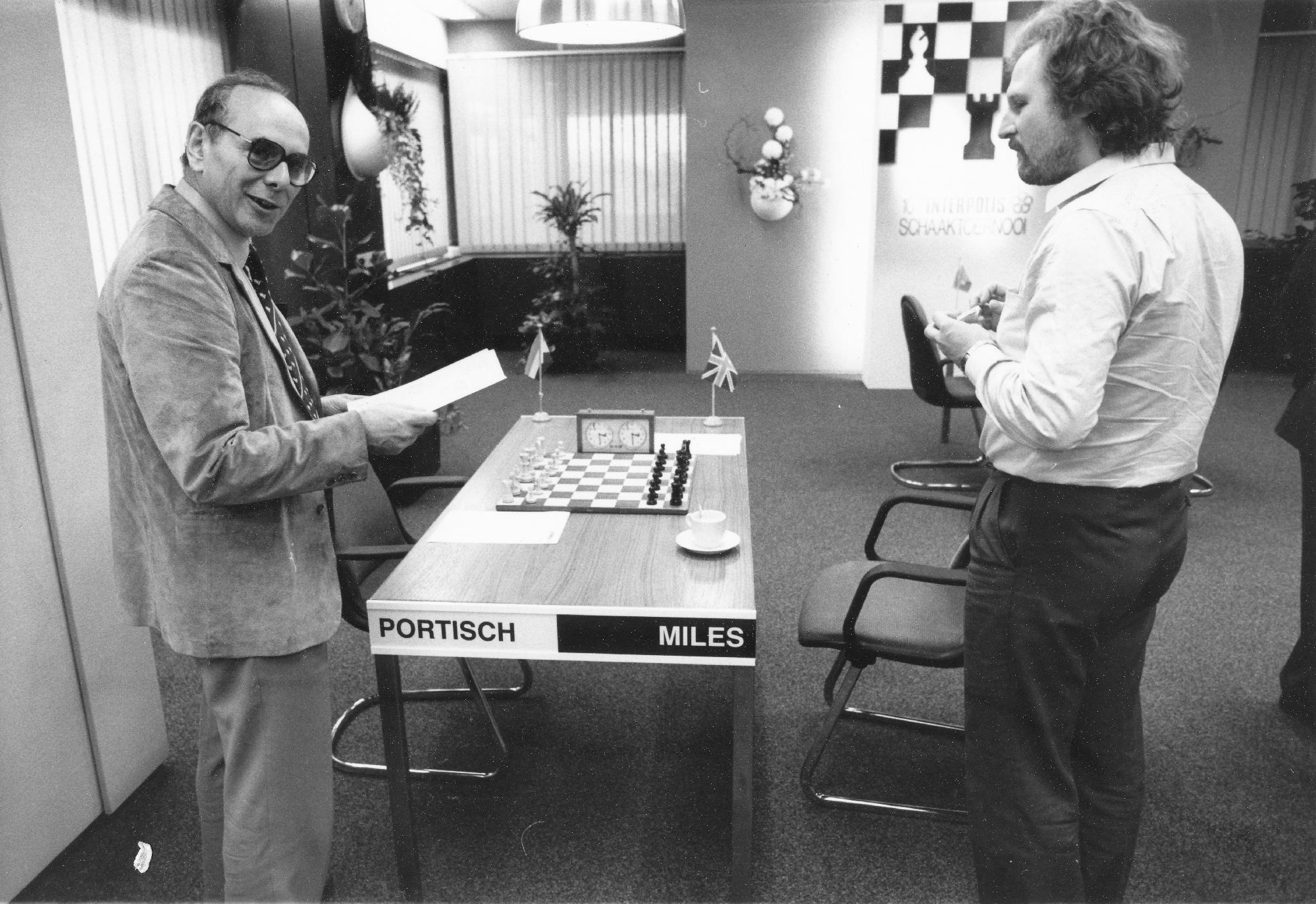 Lajos Portisch and Tony Miles