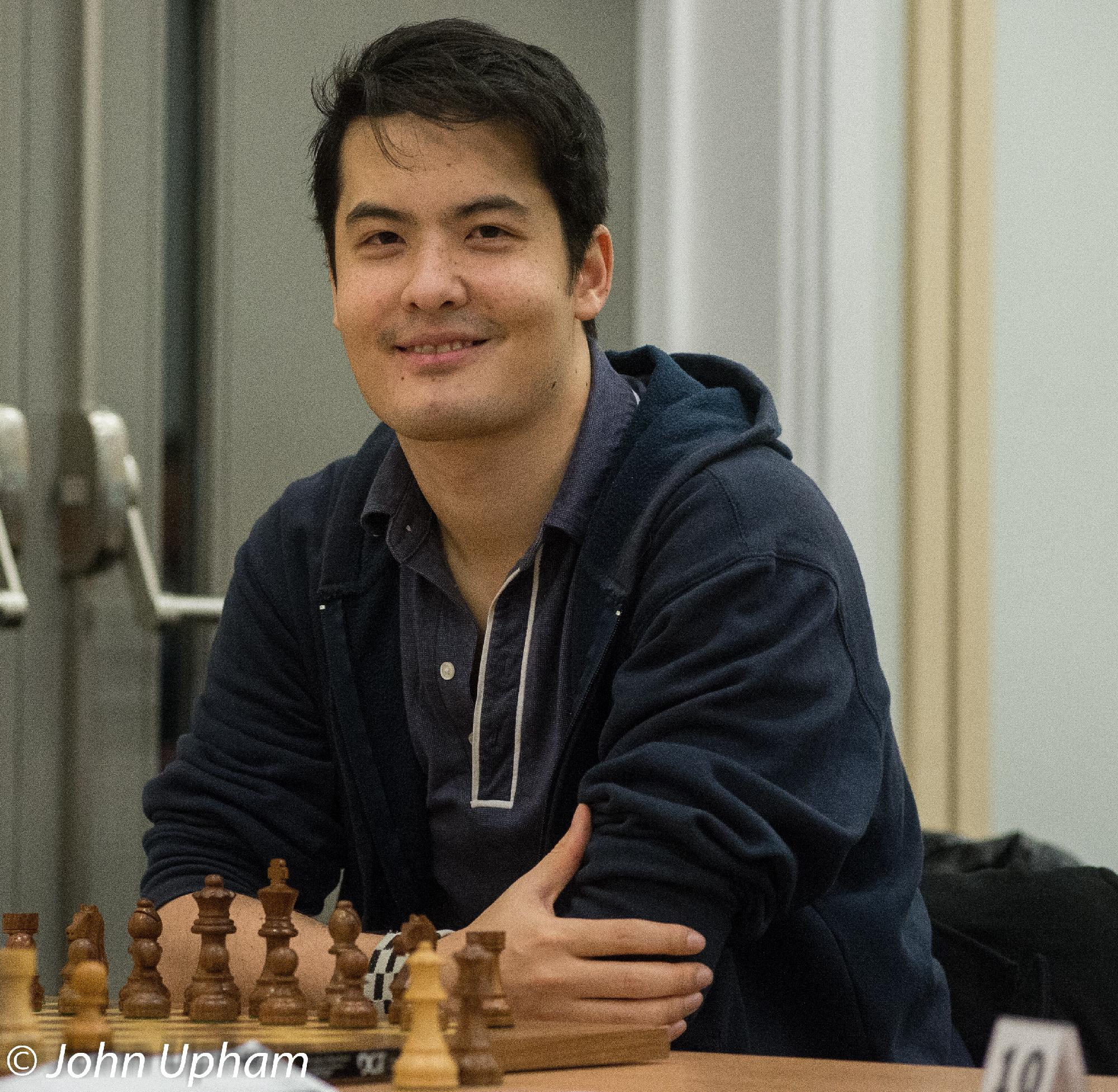 David Howell at the 2014 London Chess Classic, Courtesy of John Upham Photography