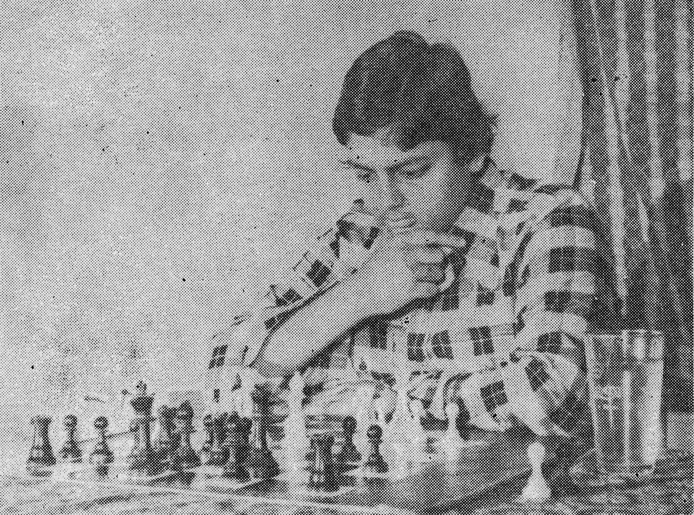 An early image of Vaidyanathan Ravikumar from page 81 of Ulf Andersson's Decisive Games