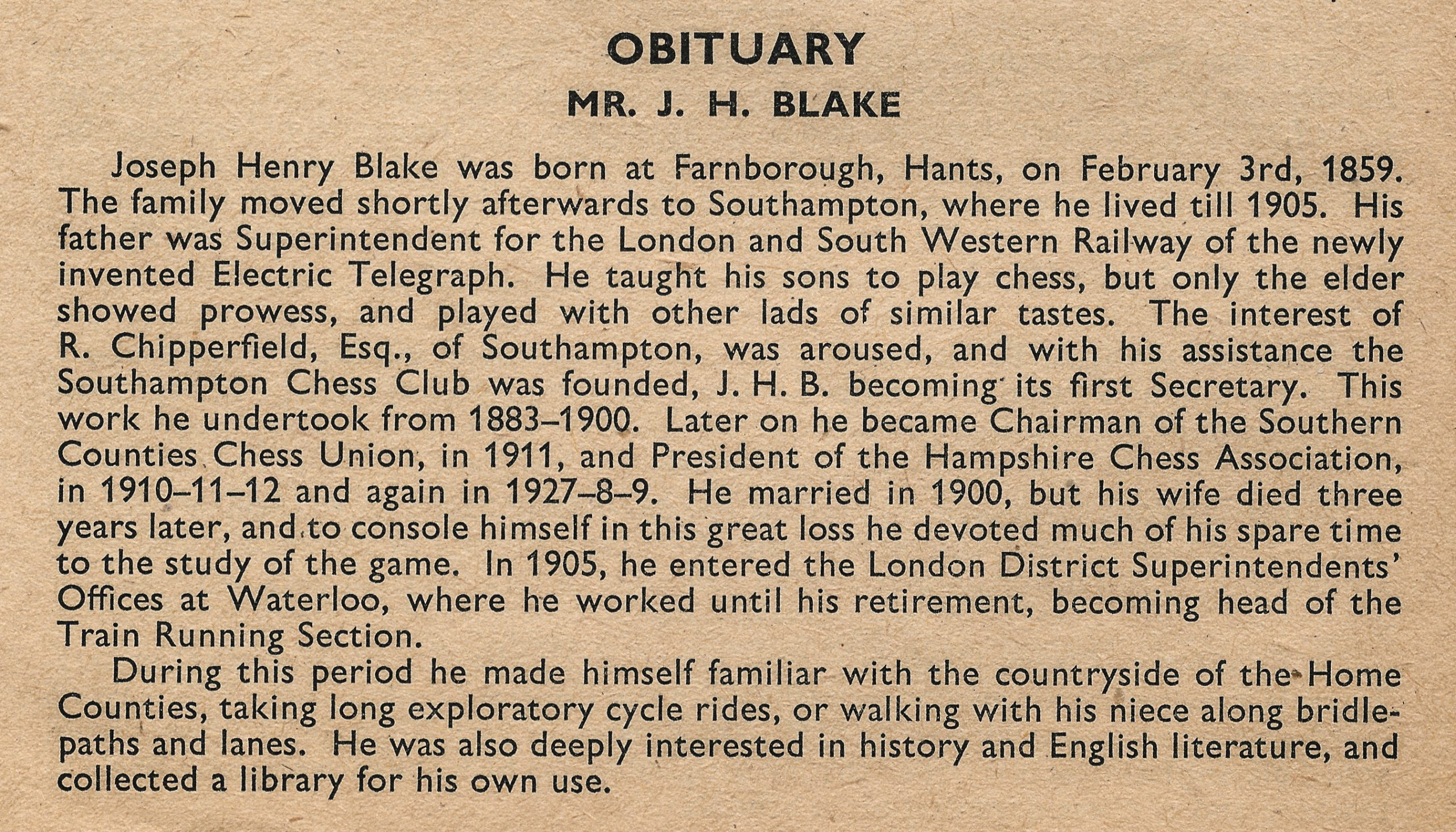 British Chess Magazine, Volume LXXII (72, 1952), Number 2 (February) pp. 44 - 46