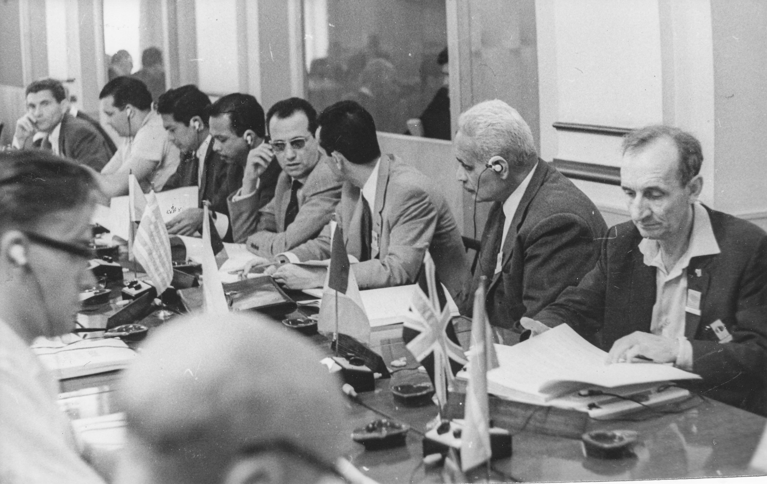 Brian Reilly at a FIDE Congress (possibly Nice 1974?)