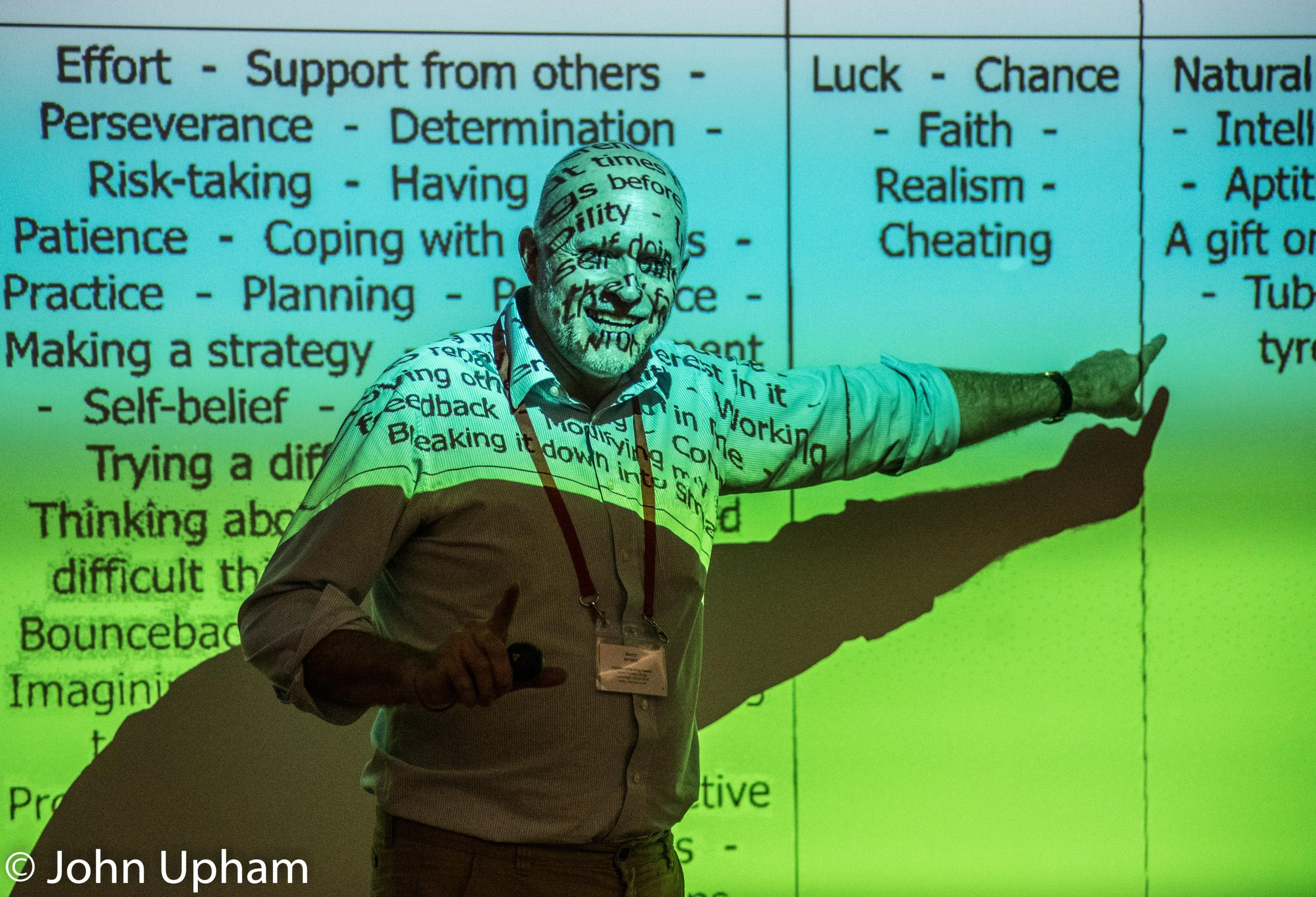 Professor Barry Hymer at Didactics of Strategy Games, October 13th 2016, courtesy of John Upham Photography