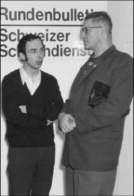 Lubomir Kavalek & Čeněk Kottnauer from Šachový Týdeník, 25th February, 2010
