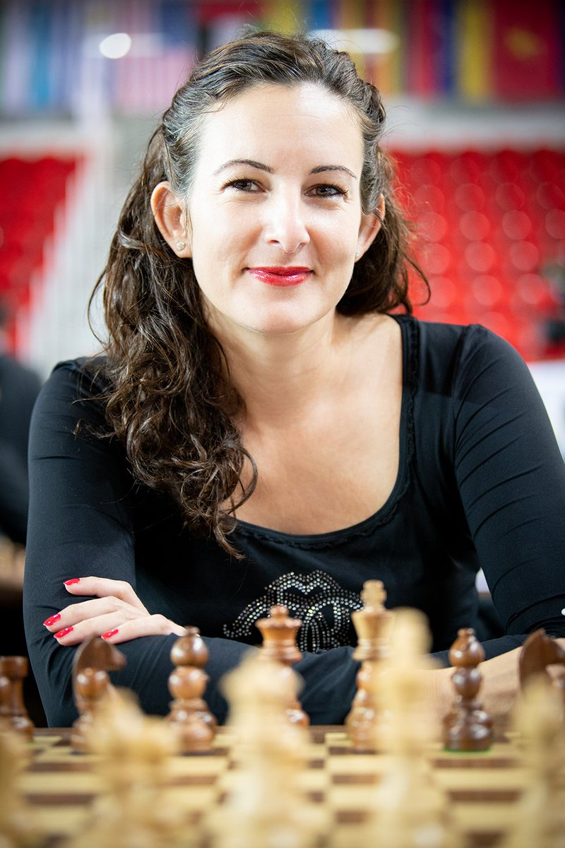Dr. Jana Krivec at the Batumi Olympiad 2018