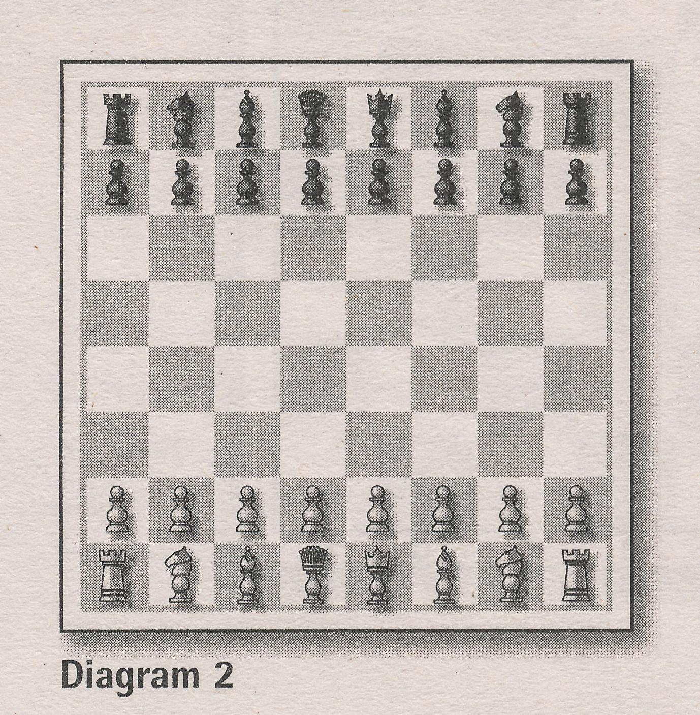 Diagram 2, Basic Chess, David Levens, Hamlyn, 2021